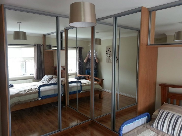 Sliding Door: Fitted Bedroom Wardrobes Sliding Doors 740 x 552